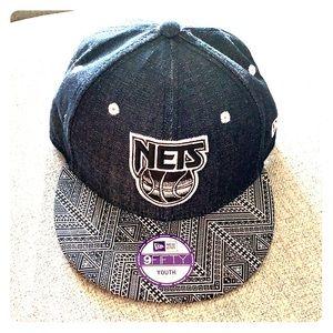 NY Nets New Era Youth SnapBack